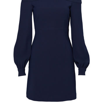 Jill Jill Stuart Blue Ink Shoulder Dress