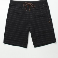 Billabong Hudson Fleece Shorts - Mens Shorts - Black