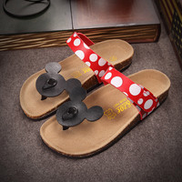 Birkenstock like Mickey Minnie Mouse Sandals Size 35-41 for Women on Sale [5013029828]