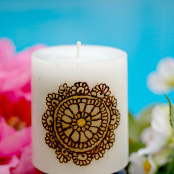 "2.8in. ""Circle of Life"" Candle 