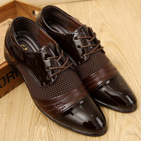 Men's Italian Designed Spring Collection Dress Shoes