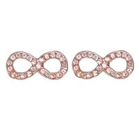 Rhinestone Infinity Earring | Shop Jewelry at Wet Seal