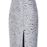 Crocodile Jacquard Skirt by Nina Ricci for Preorder on Moda Operandi