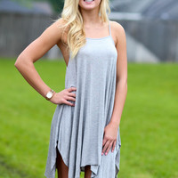 Beach Bound Dress - Grey