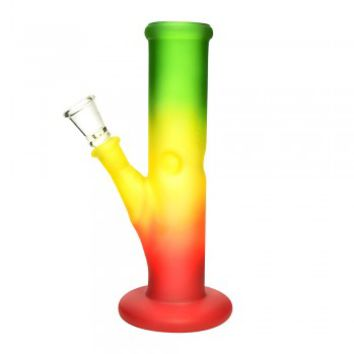 "8"" RASTA STRAIGHT SHOT WATERPIPE 14MM"