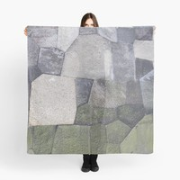 'An imperial wall' Scarf by vfphoto