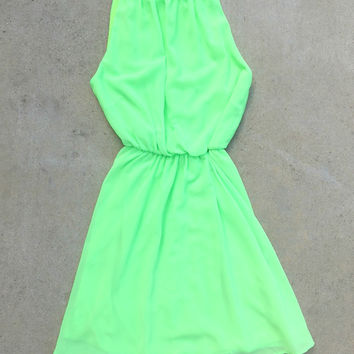 Sweet Spring Dress in Green
