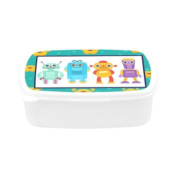 Children's Robots Lunch Box
