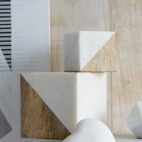 Marble + Wood Objects