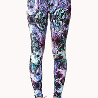 Crystal Print Leggings