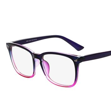 403470a67d Brand Designer Spectacle Optical Glasses Frame Anti-radiation Co