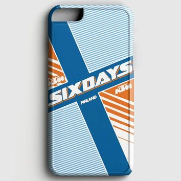 Ktm Motorcycle Six Days Finland Mx iPhone 6 Plus/6S Plus Case
