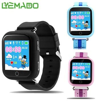 """Lemado kids Smart watch with Wifi 1.54"""" touch screen SOS Call Location Device Tracker for Child GPS Smartwatch 600mAh battery"""