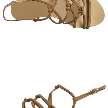 BILLINI MAHDI WOMENS SANDAL - LIGHT KHAKI SUEDE