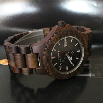 Mens watch, unique watch for men, wood watch for women, retro watch, Groomsmen watch, boyfriend watch, gift idea, Fiance Wedding Gift