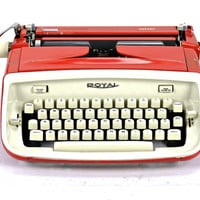 Vintage Royal Safari Typewriter / Working Royal Typewriter
