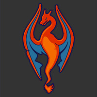 Charizard Skyrim Mash up T-Shirt