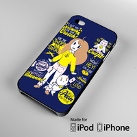 Bee and PuppyCat A0528 iPhone 4S 5S 5C 6 6Plus, iPod 4 5, LG G2 G3, Sony Z2 Case