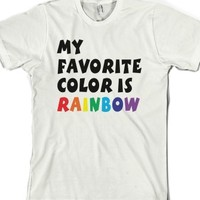 White T-Shirt | Cute Gay Pride Shirts