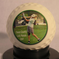 Large Photo Golf Ball - Create YOUR personal fan ball