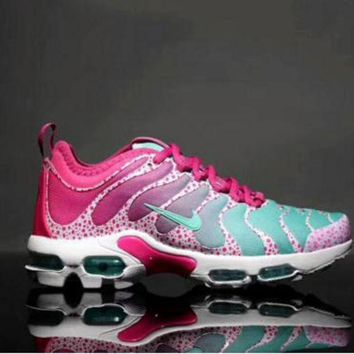 Nike Air Max Plus TN Woman Fashion Running Sneakers Sport Shoes B-A-BM-YSHY Pink-green