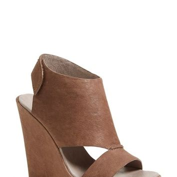 "Women's Vince Camuto 'Gevara' Leather Platform Wedge, 5"" heel"
