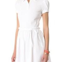 RED Valentino Pique Collared Dress | SHOPBOP | Use Code: EXTRA25 for 25% Off Sale Items