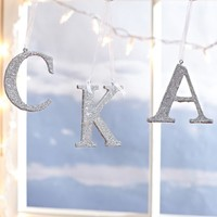 Sparkle Letter Ornaments