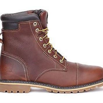 "Timberland Mens 6"" Insulated WP Boot Chestnut Ridge Dk Brown A128U"