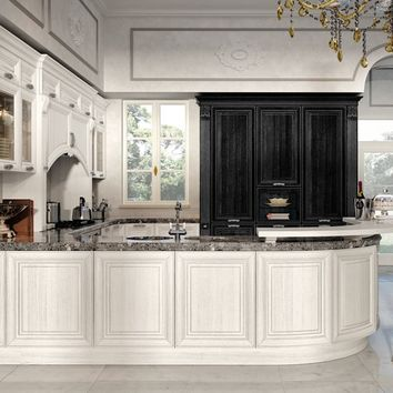 DECAPÉ KITCHEN WITH HANDLES PANTHEON | KITCHEN | CUCINE LUBE