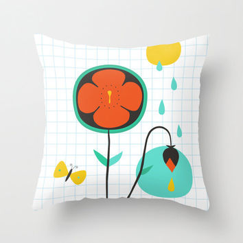 Poppy Pillow Case