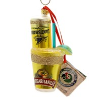 Holiday Ornaments Landshark Beergarita Glass Ornament