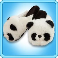 Slippers :: Comfy Panda Slippers - My Pillow Pets® | The Official Home of Pillow Pets®