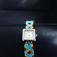 Boho Tribal Band Wrist Watch