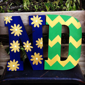 Custom College Letters