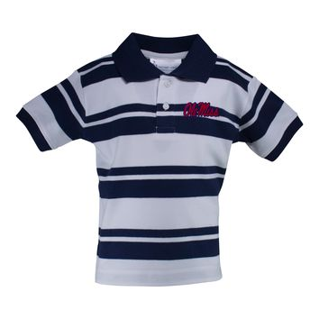 Ole Miss Rugby Golf Shirt