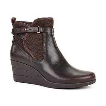 Ugg Women's Emalie Ankle-High Leather Boot UGG Australia Womens