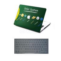 """Hard Rubberized Case Shell +Keyboard Cover For Macbook Air/Pro/Retina 11/13/15"""""""