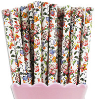 Wildflower Paper Straws