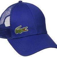 ca kuyou Lacoste Men's Trucker Cap, France, One Size