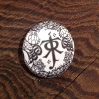 Tolkien inspired lord of the rings one inch button