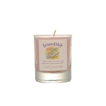 Friendship Soy Glass Votive Candle