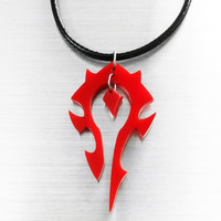 World of Warcraft Horde Pendant or Key Chain