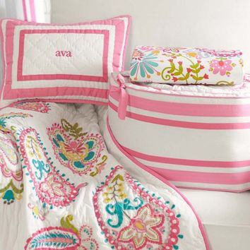 Tera Paisley Nursery Bedding | Pottery Barn Kids