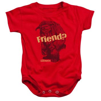 Labyrinth - Ludo Friend Infant Snapsuit Officially Licensed Baby Clothing