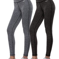 Women's Activewear Yoga Pants High Rise Workout Gym Spanx Tights Leggings