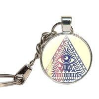 Eye Of Providence Keychain Series 003