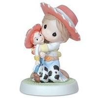''Yodel-Ay-Hee-Ho I Sure Like You'' Jessie Figurine by Precious Moments | Disney Store