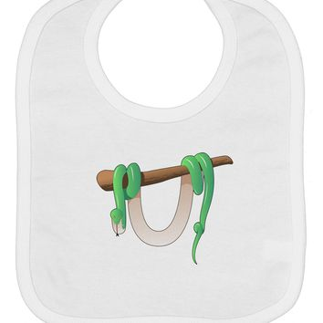 Anaconda Design Green Baby Bib