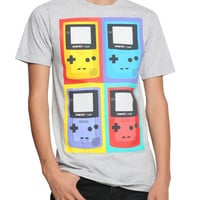 Nintendo Game Boy Color Pop Art T-Shirt